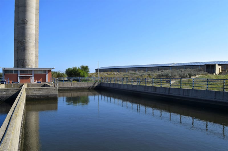 Design of a waste water and rain water treatment plant of Gela city