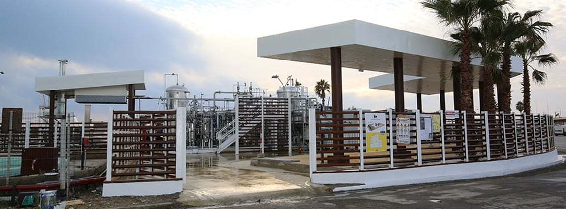 Improvements design to the Gela waste-to-fuel pilot plant