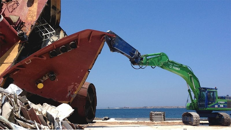 Progettazione Decommissioning Nave Gelso M